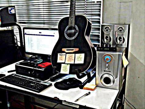 My desk's new look